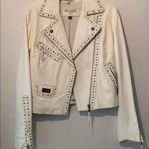 RAW leather jacket.